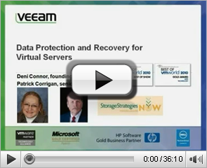 Data Protection for Virtual Servers