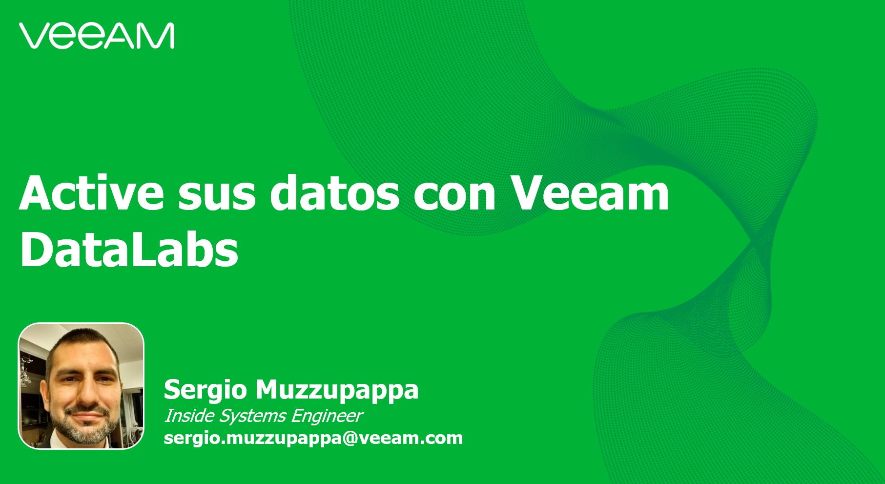 Active sus datos con Veeam DataLabs