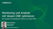 Neue, leistungsstarke Monitoring- und Analyse-Features in Veeam ONE