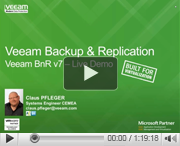 Veeam Backup & Replication v7 - Produkt Demo