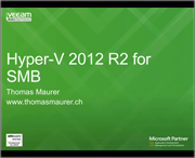Hyper-V und Veeam Backup & Replication für KMU