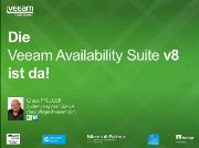 Veeam Availability Suite v8 ist da!