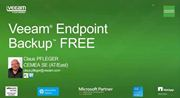 Erster Einblick in Veeam Endpoint Backup FREE