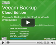 Veeam Backup Cloud Edition - Top-VM-Backup jetzt für die Cloud!