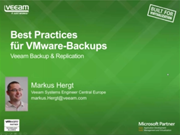 Best Practice für VMware-Backup