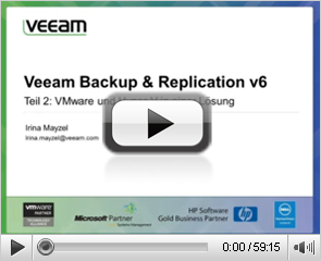 Veeam Backup & Replication v 6: VMware- & Hyper-V in einer Lösung