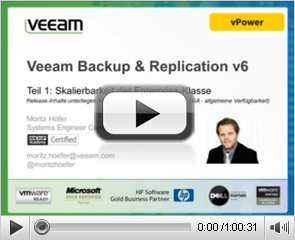 Backup & Replication v 6: Skalierbarkeit der Enterprise-Klasse