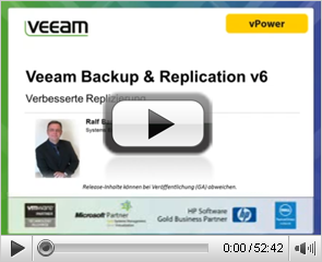 Veeam Backup & Replication v6: Verbesserte Replikation