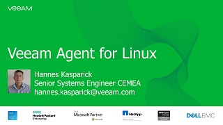 Veeam Agent for Linux mit Live-Demo