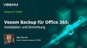 Veeam Backup for Microsoft Office 365 – Installation und Bereitstellung