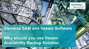 Exclusive webinar by Siemens SAM and Veeam Software