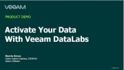 Veeam Availability Suite: aktivace dat s Veeam DataLabs