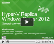Using Hyper-V replica in your environment. A new defense layer in your Disaster Recovery plan.