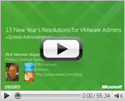 13 New Year's Resolutions for VMware Admins