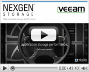Accelerating VM Recovery with NexGen and Veeam