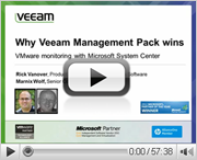 VMware monitoring with System Center: Why Veeam MP wins