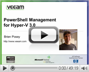 Windows Server 2012: Managing Hyper-V from PowerShell