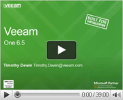 Veeam ONE 6.5 wat is er nieuw