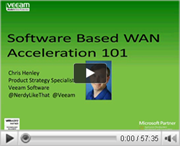 Software Based WAN Acceleration 101