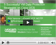 5 Successful VM Data Protection Strategies on Cisco UCS