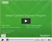 Veeam Certified Engineer Course. Increasing knowledge. Maximizing performance