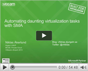 Automate daunting virtualization tasks with SMA