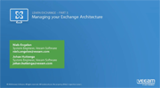 Get started with Exchange 2013 – Protecting Exchange with Veeam