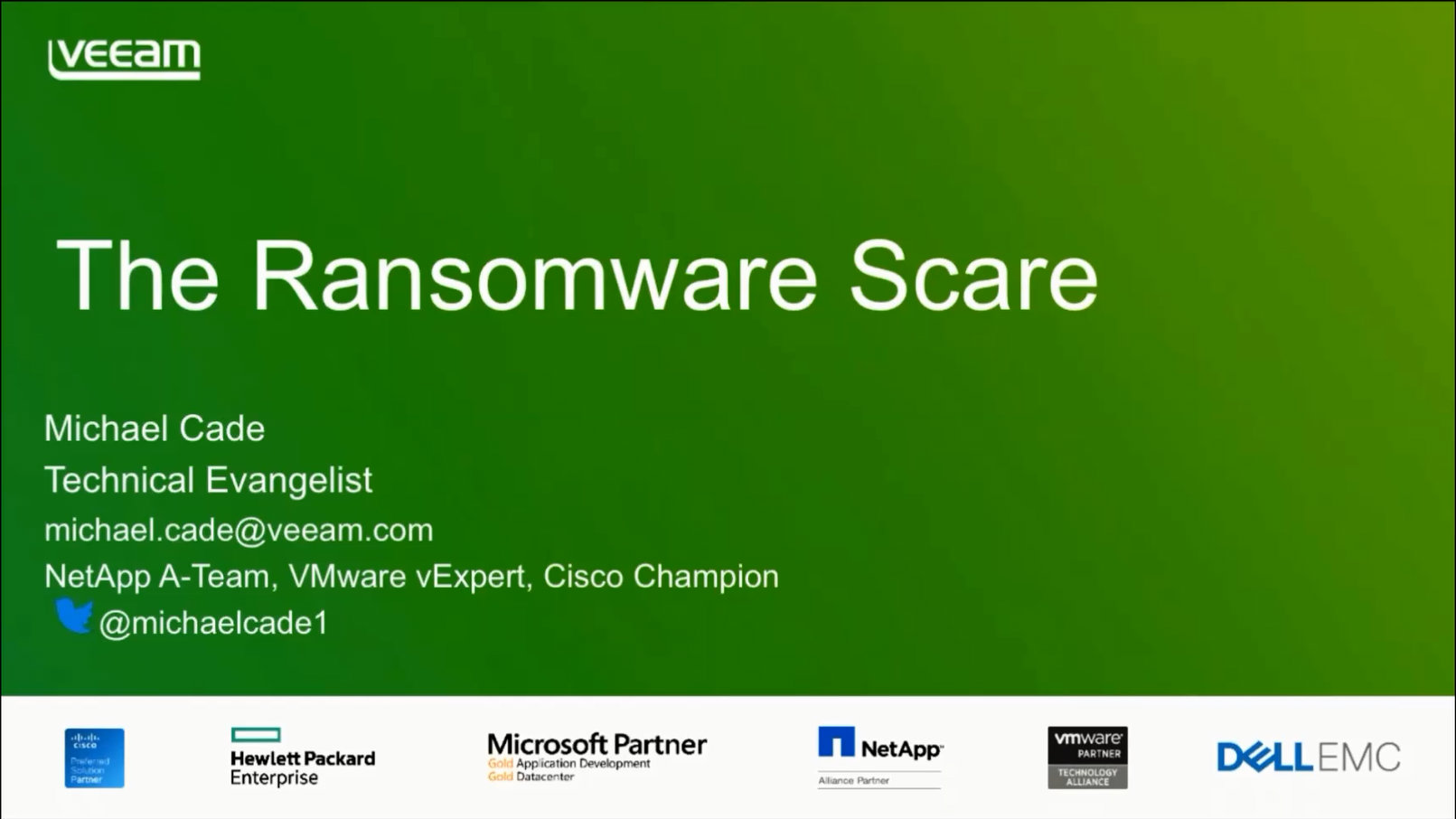 Protect your Business from Ransomware Using Veeam