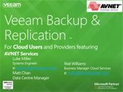 Backup & Replication for Cloud environments
