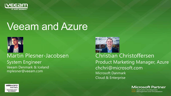 Microsoft Azure and Veeam