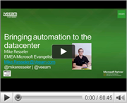 Bringing Automation to the Datacenter