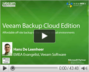 #1 VM Backup is now cloud ready...are you?