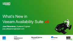 Se on täällä! UUSI Veeam Availability Suite v9