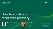How to accelerate rapid data recovery