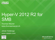Windows Server 2012 R2 Hyper-V for SMB