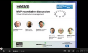 MVP roundtable discussion Virtual Infrastructure management