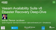 Veeam Availability Suite v8 for Disaster Recovery Deep-Dive