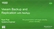 Say hello to sub-15 minute recovery times—Veeam and NetApp are here!