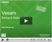Sneak preview Veeam Backup Replication v7