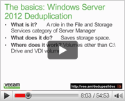 Windows Server 2012 Deduplication for Beginners