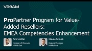 ProPartner Program for Veeam Value-Added Resellers in Middle East