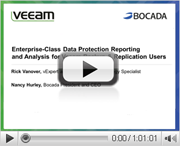 Enterprise-Class Data Protection Reporting and Analysis for Veeam Backup & Replication Users