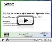 Expert Tips for Monitoring VMware in Microsoft SCOM 2012