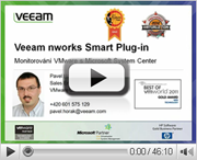 Veeam Management Pack pro VMware