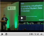 Veeam at IDC: Leveraging Virtualisation to achieve Modern Data Protection