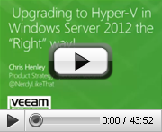 Upgrading to Windows Server 2012 Hyper-V the Right Way