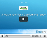 Virtualize your Tier-1 Applications Today!