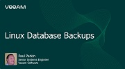 Linux Database Backups