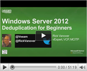 Windows Server 2012: Deduplication for beginners