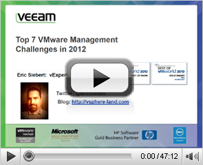 7 Top VMware Management Challenges in 2012